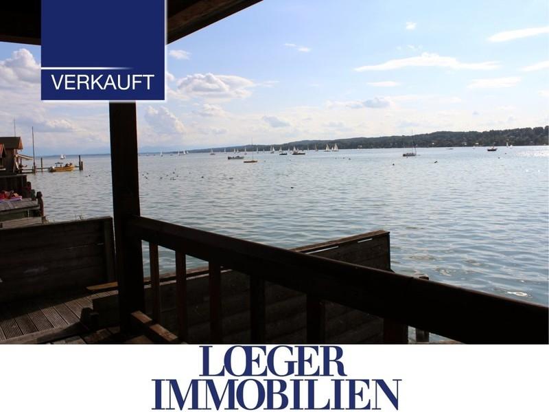 +VERKAUFT+ Bootshaus am Starnberger See – Träume werden wahr
