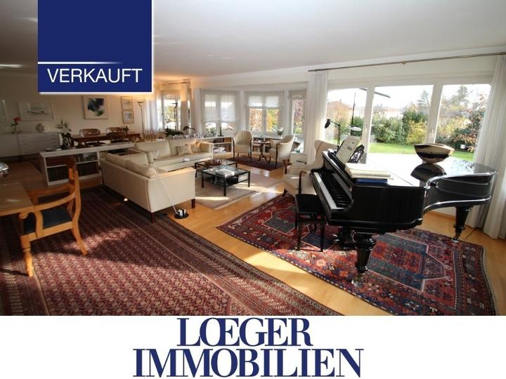 Ein großes Haus mit Eleganz, Flair und Seeblick zum ruhigen Wohnen und Arbeiten