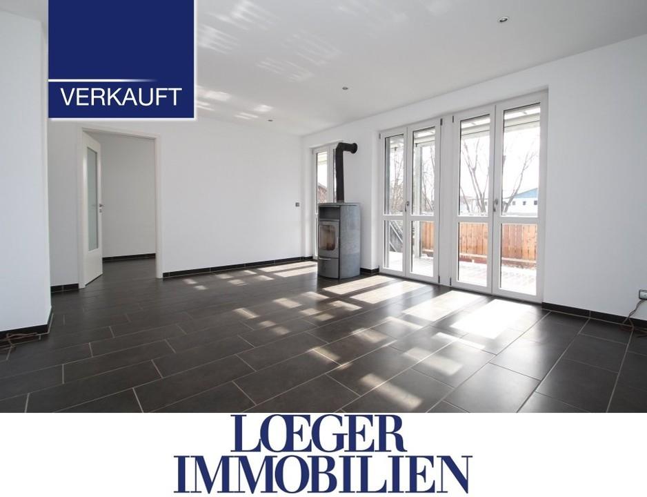 +VERKAUFT+ 3-Zimmer-Gartenwohnung in Tutzing Ortsteil Kampberg
