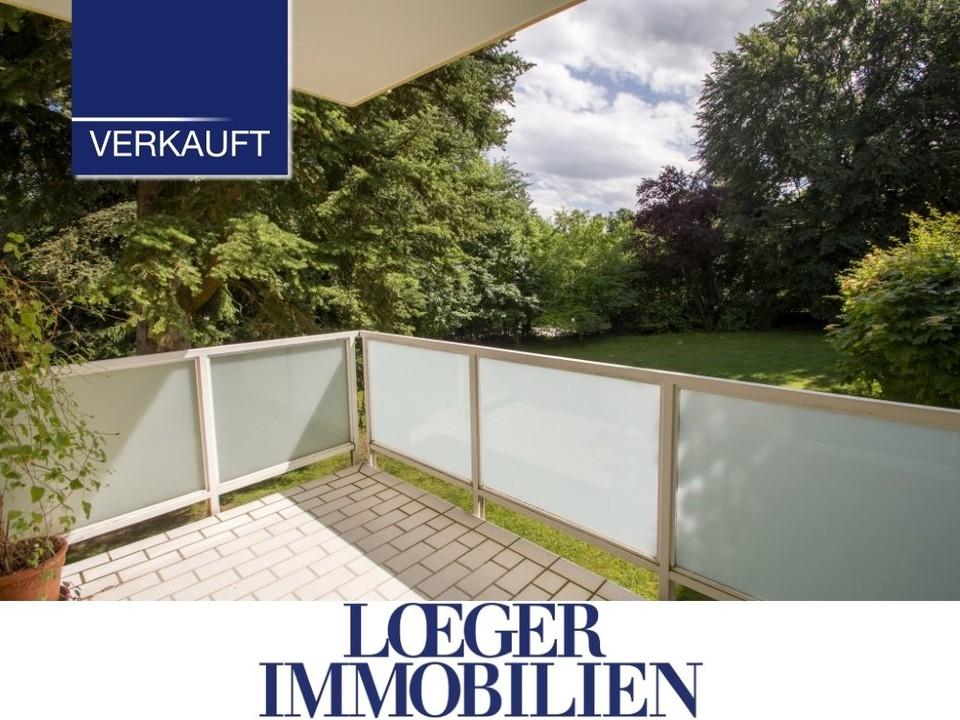 +VERKAUFT+ 4-Zimmer-Terrassen-Wohnung in ruhiger Lage unweit des Sees