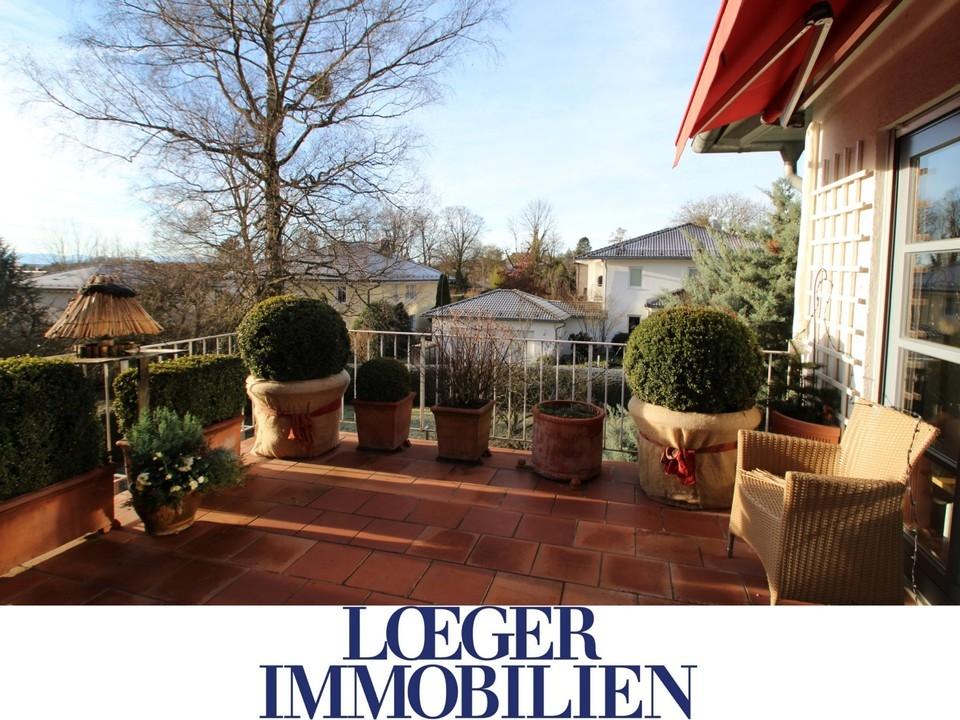 +VERMIETET+ Sonnige Wohnung mit großem Süd-Balkon in Starnberg-Söcking