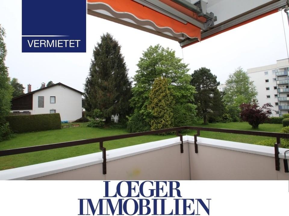 +VERMIETET+ 3 1/2-Zimmer-Wohnung mit Einbauküche und Süd-Loggia in Tutzing