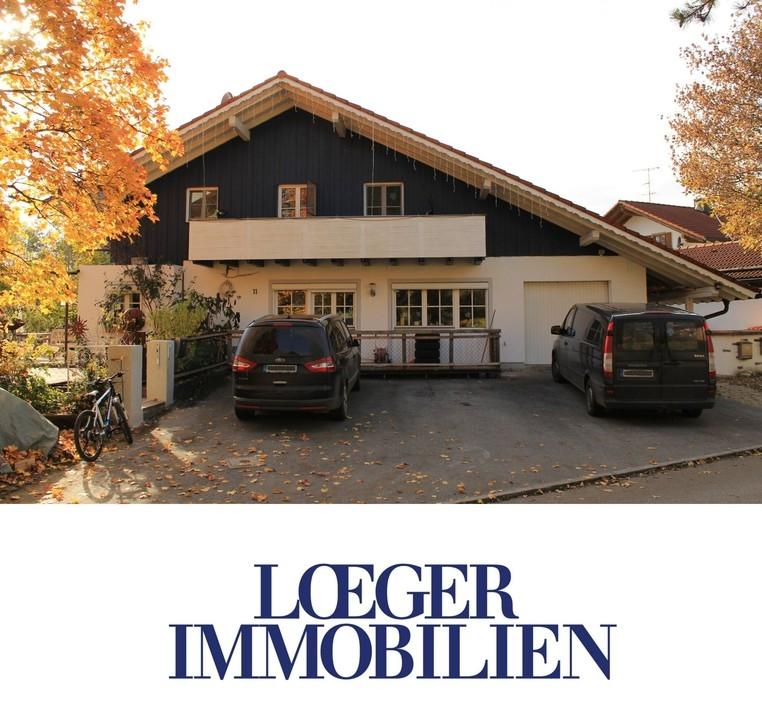 +VERKAUFT+Ein Paradies für Kinder – Doppelhaushälfte mit Einliegerwohnung in Bernried