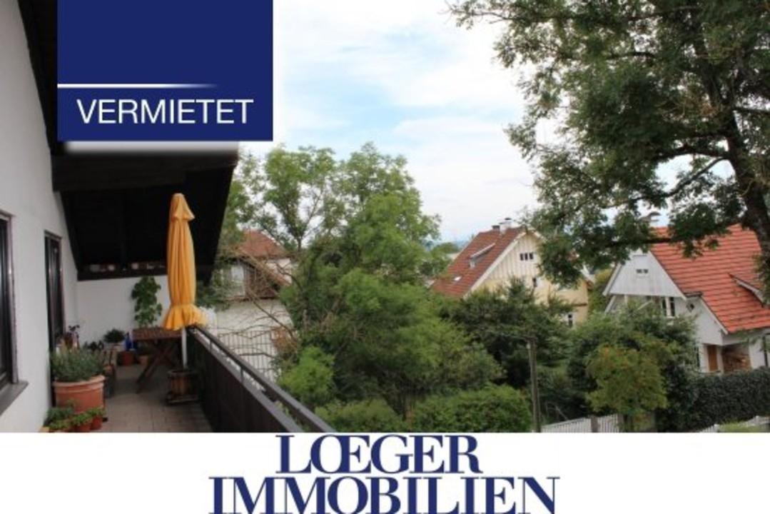 +VERMIETET+Großzügige Dachgeschoss-Wohnung im Herzen von Tutzing – ruhige Lage – neu renoviert!