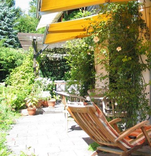 Terrasseim Sommer