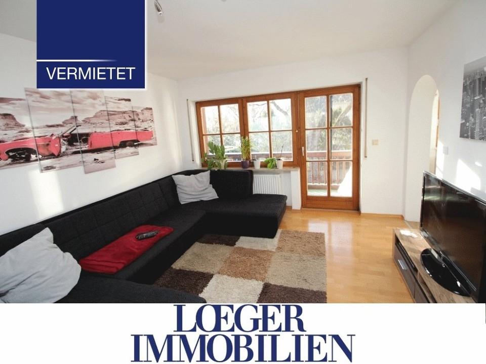 +VERMIETET+ 2 Zimmer Wohnung zur Miete in Tutzing am Starnberger See