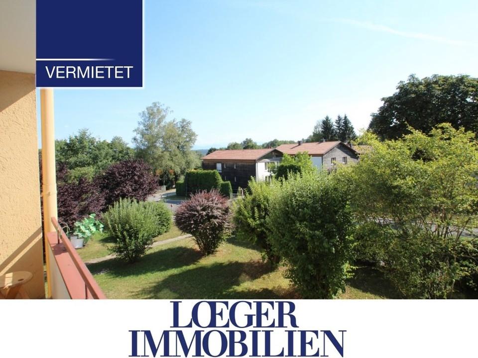 +VERMIETET+ 1-Zimmer-Appartement mit Süd-Loggia in Tutzing