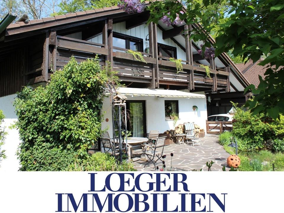 +VERKAUFT+Einfamilienhaus mit Einliegerwohnung in Tutzing
