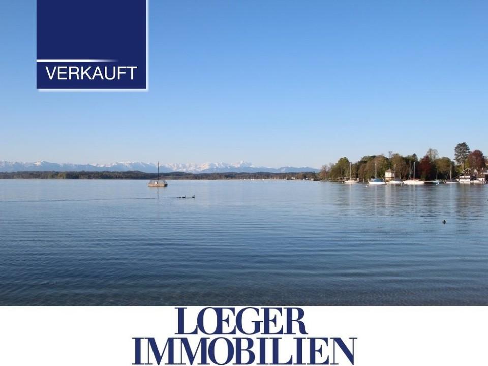 +VERKAUFT+ Tutzing – mittendrin 2.959 m² Wohnbaugrundstück in exponierter und zentraler Lage