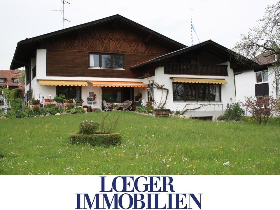 +VERMIETET+Dachgeschosswohnung in Tutzing