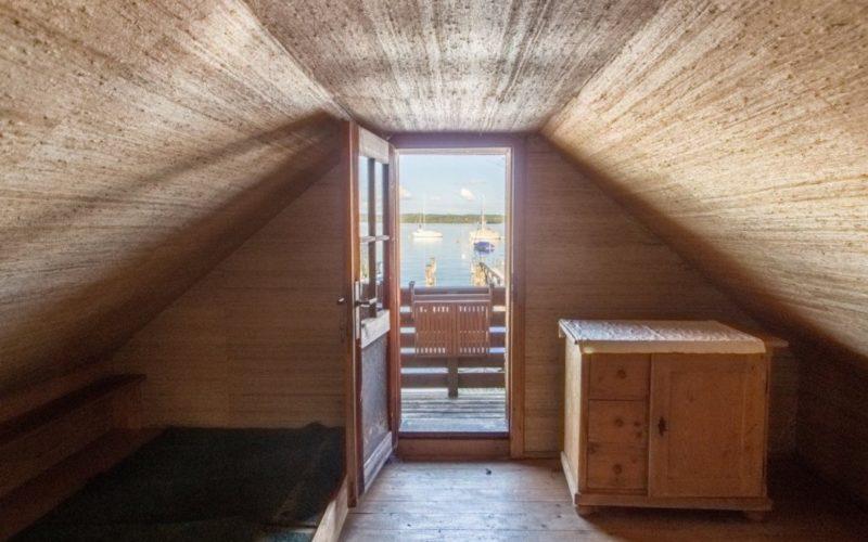 Blick aus dem Bootshaus