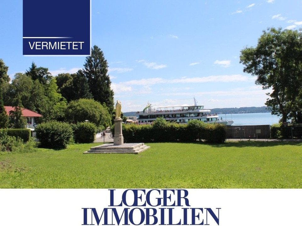 +VERMIETET+ Seeblick – Charmante Wohnung mit Traumblick in Tutzing