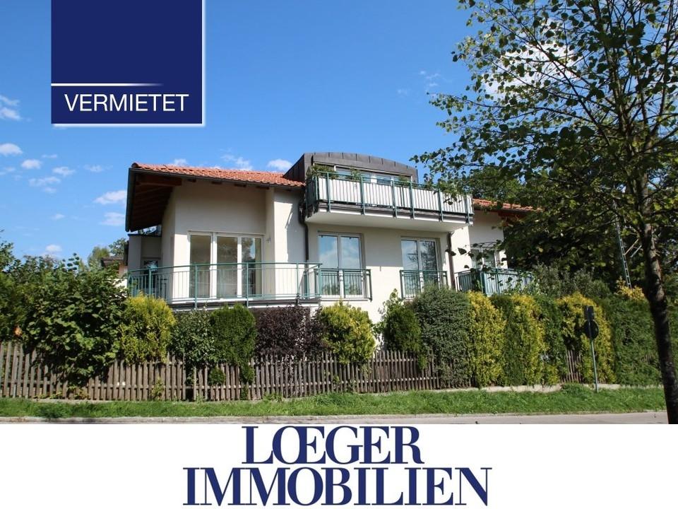 +VERMIETET+Sonnige Mietwohnung mit EBK, großem Süd-Balkon und TG