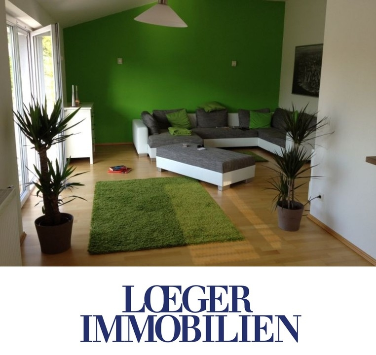 +VERMIETET+Mietwohnung mit großem Balkon und EBK in Bernried