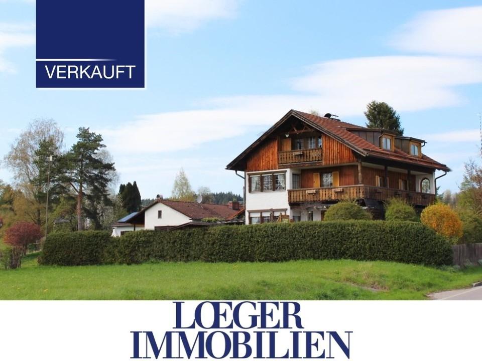 +VERKAUFT+ Tutzing – Einfamilienhaus mit Potenzial