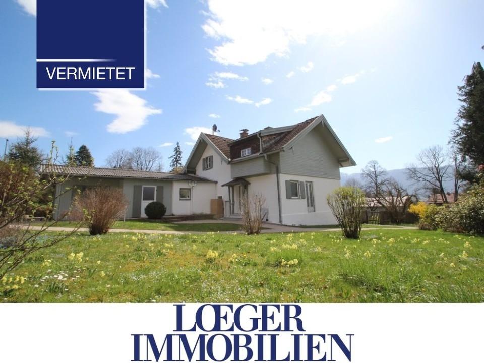 +VERMIETET+ Charmantes Haus von 1934 – liebevoll renoviert mit tollem Bergblick