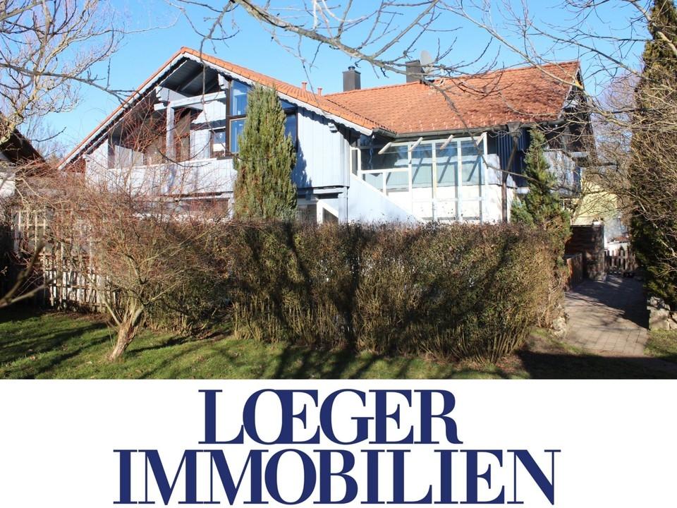 +VERKAUFT* Doppelhaushälfte mit großem Garten in Bernried