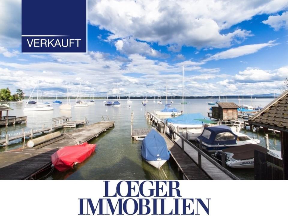 +VERKAUFT+ Bootshaus in Tutzing am Starnberger See – Träume werden wahr.