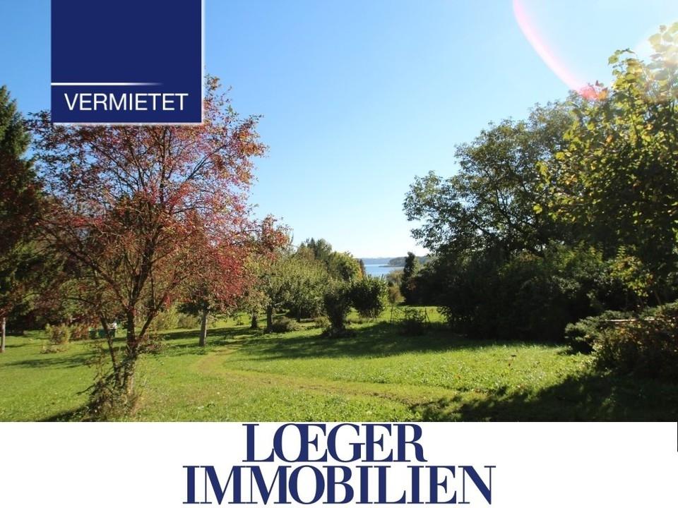 +VERMIETET+ kleine Wohnung zur Miete in Tutzing