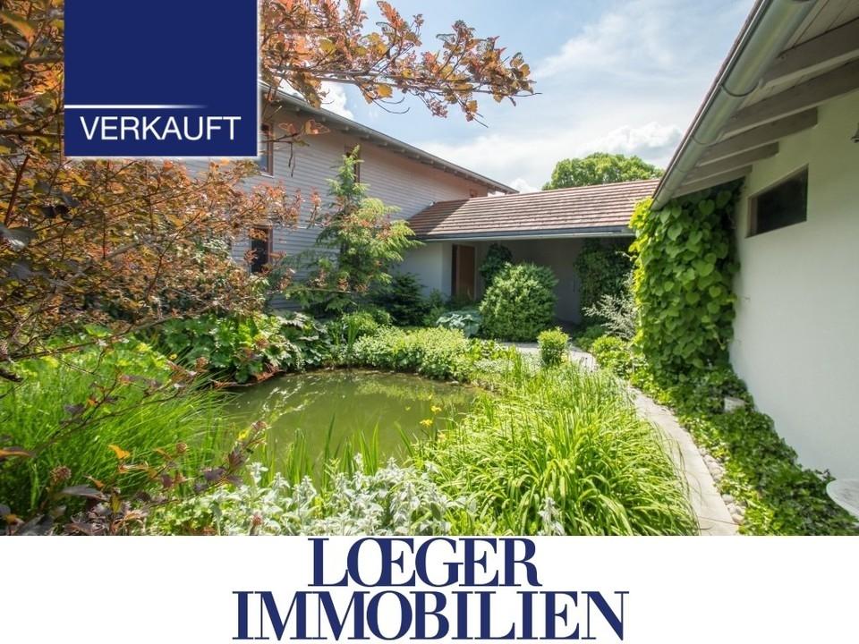 +VERKAUFT+ Nähe Weilheim – Ein großes Niedrigenergiehaus mit vielen Nutzungsmöglichkeiten