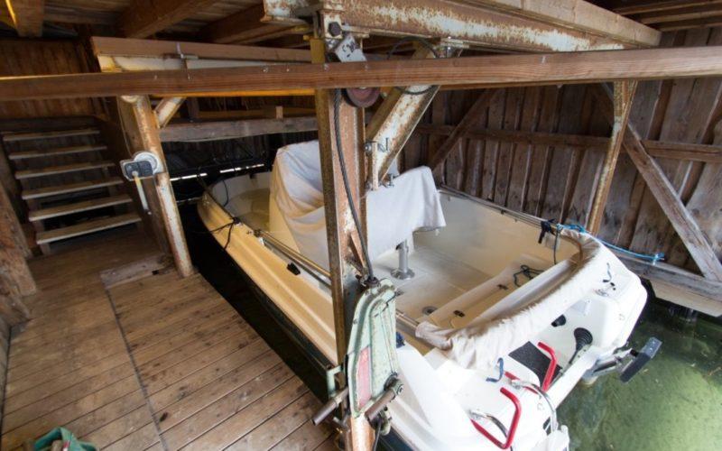 Seilwinde für Boot