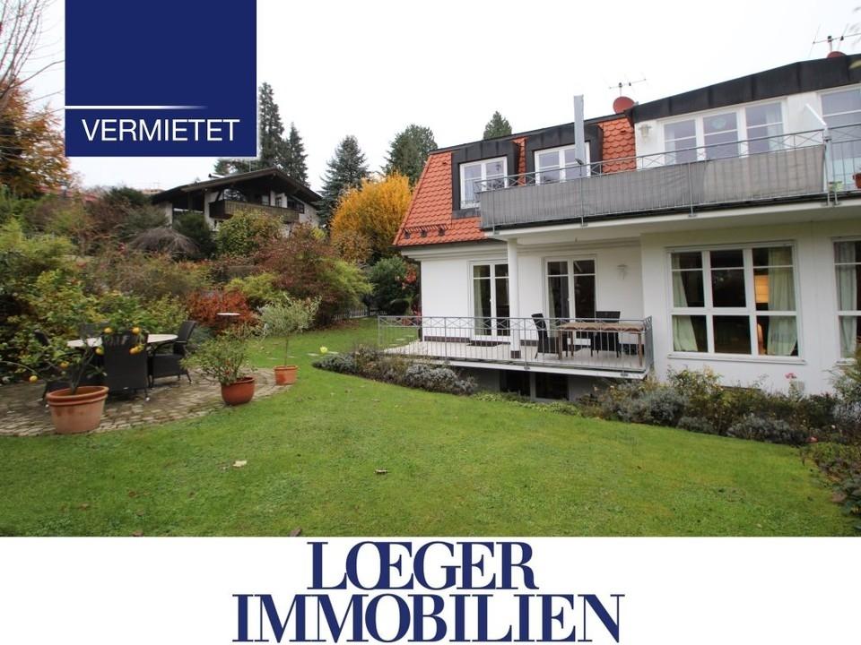 +VERMIETET+Elegante Doppelhaushälfte in Tutzing