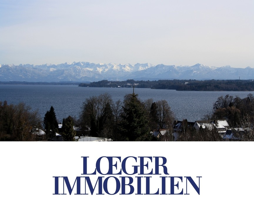 +VERKAUFT+ Einfamilienhaus in exponierter Lage mit See- und Zugspitzblick