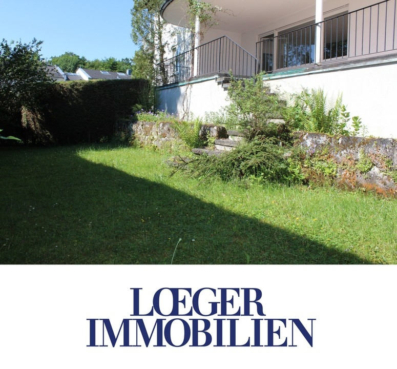 +VERMIETET+Gut geschnittene Erdgeschoss-Wohnung mit Garten
