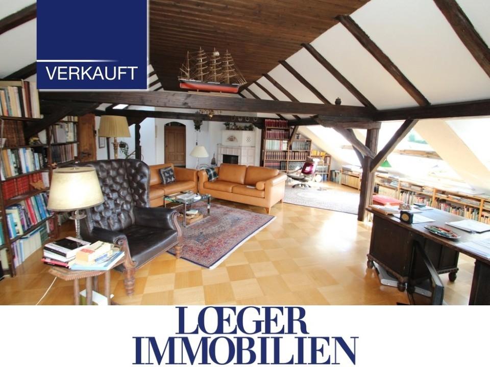 +VERKAUFT+ Kapitalanlage Liebhaberobjekt Nähe Starnberger See