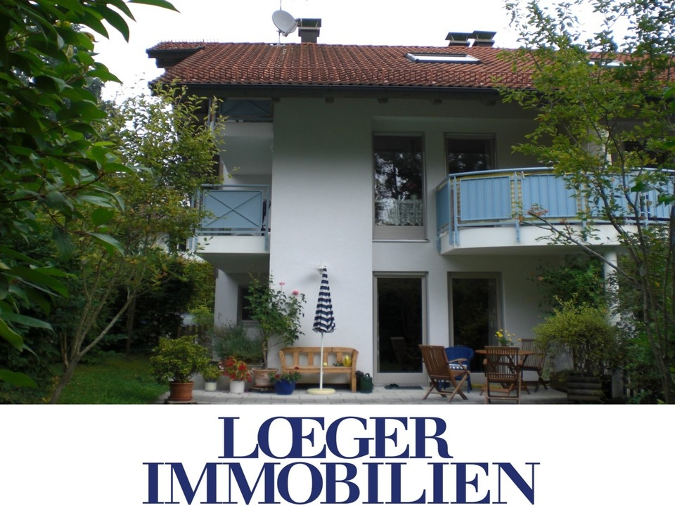 +VERMIETET+1 1/2 Zimmer-Erdgeschoss-Wohnung in Tutzing