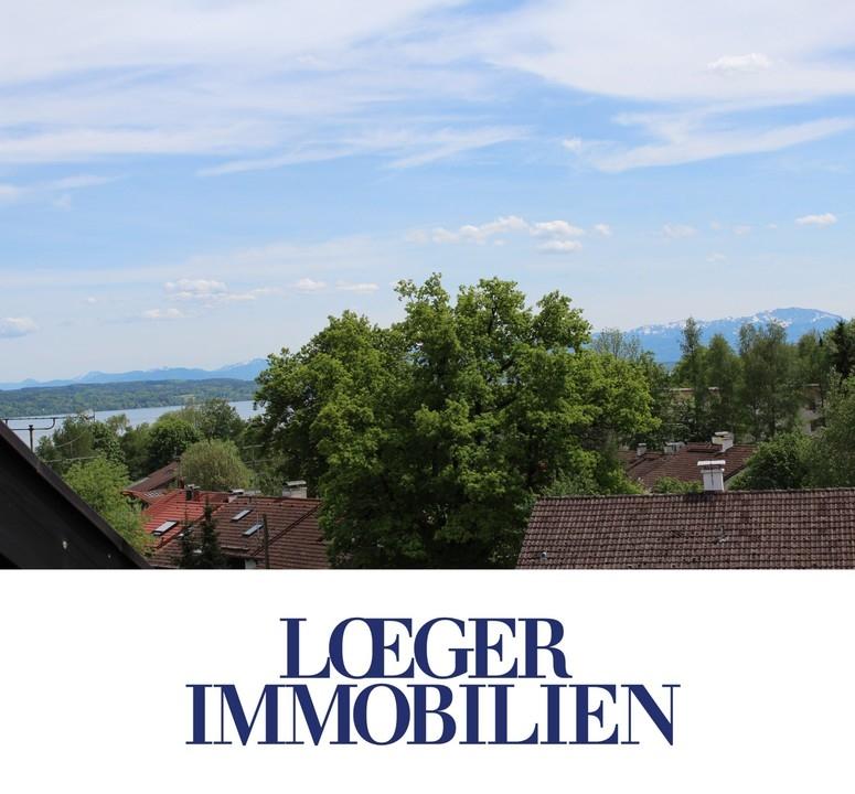 +VERMIETET+ Elegante Wohnung in der obersten Etage mit See- und Bergblick