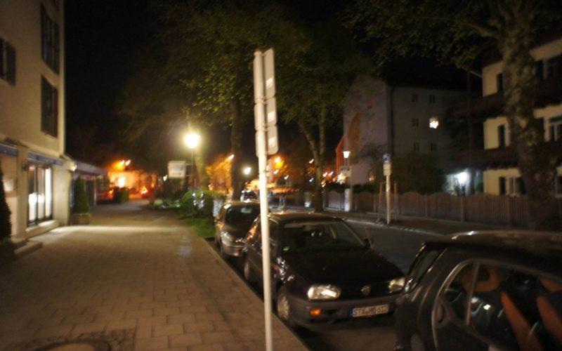 Sicht auf die Straße