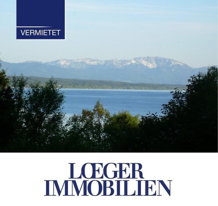 +VERMIETET+ Dachgeschoss-Wohnung mit Seeblick in Tutzing