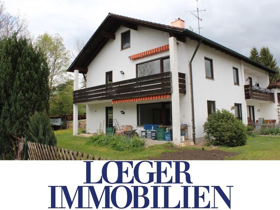 +VERMIETET+ Doppelhaushälfte mit viel Platz und großem Garten in Bernried
