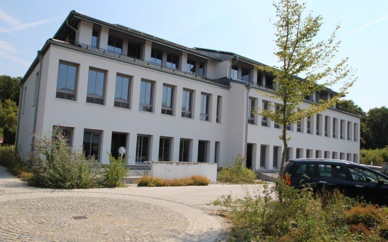 Rückansicht des Gebäudes