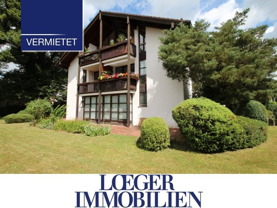 +VERMIETET+ Wohnen in Zentrumslage von Tutzing