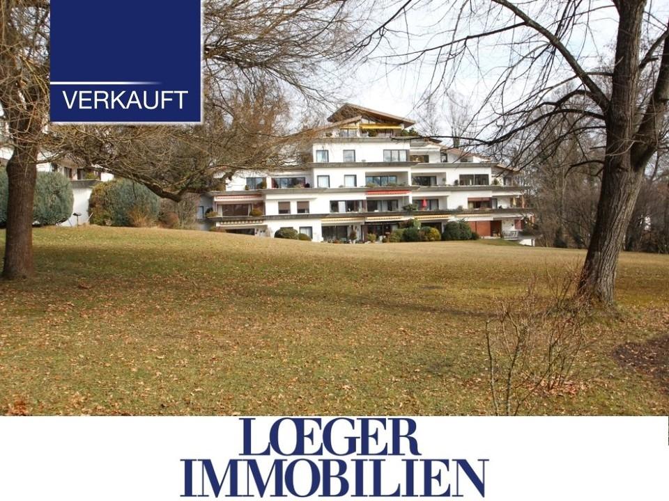 +VERKAUFT+ Elegante 2-Zimmer-Erdgeschoss-Wohnung in Tutzing