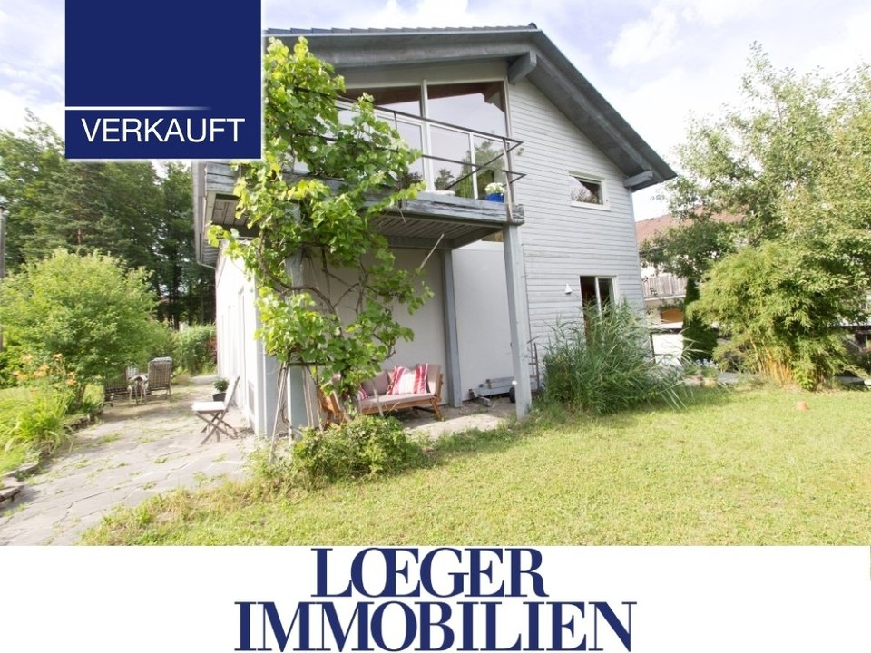 +VERKAUFT+ Tutzing-Kampberg Architektenhaus für die große Familie