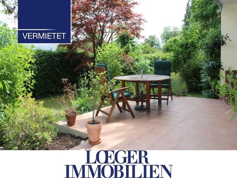 +VERMIETET+ Erdgeschoss-Wohnung mit Terrasse und Garten in Tutzing