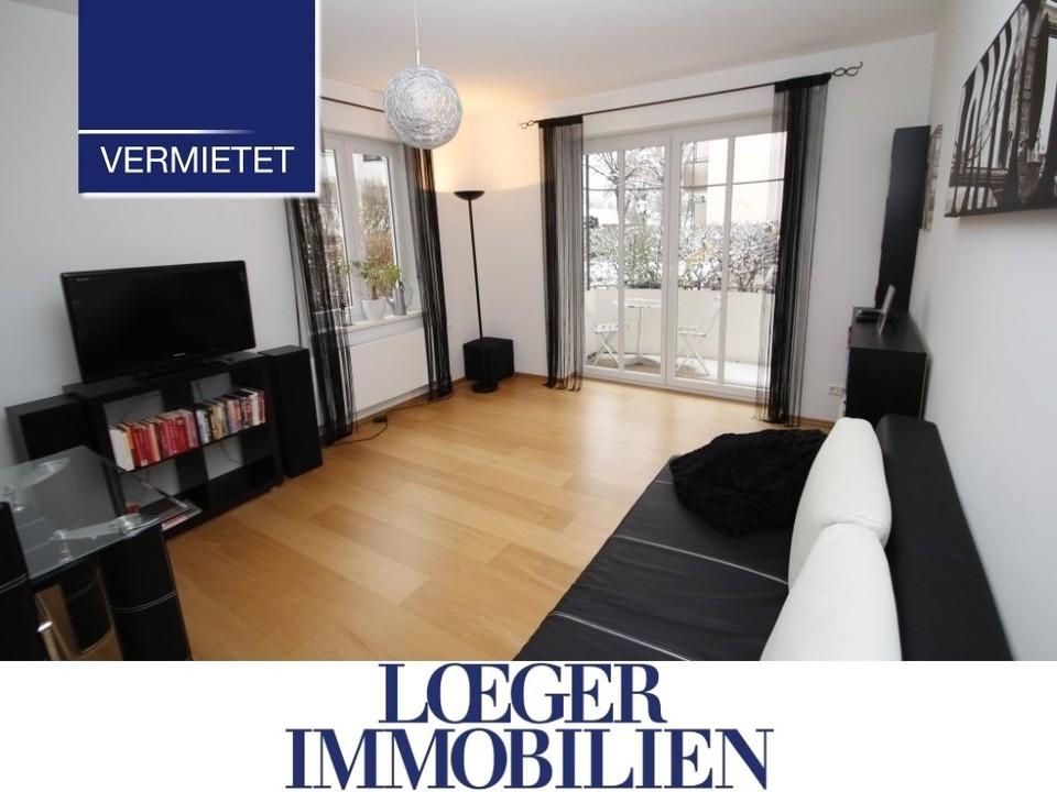 +VERMIETET+ Wohnung in Starnberg mit Balkon und Gartenanteil