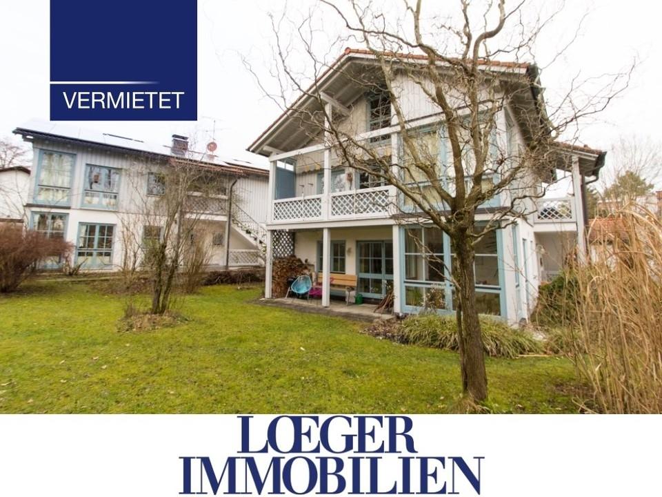 +VERMIETET+ 3-Zimmer-Gartenwohnung in ruhiger Lage von Tutzing