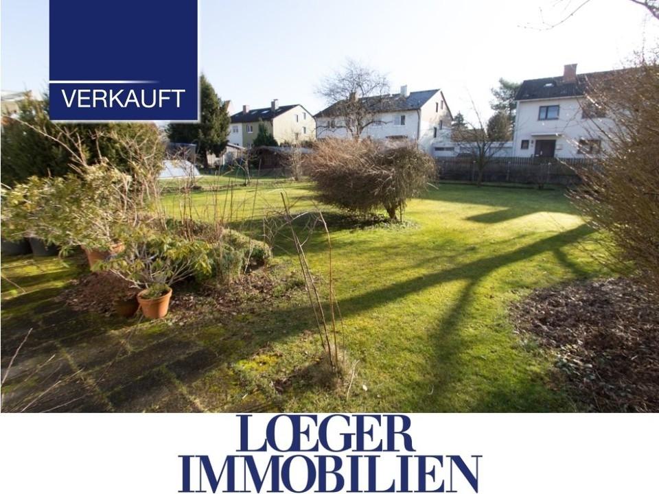 +VERKAUFT+ Germering-Unterpfaffenhofen 850 m² Baugrundstück mit Altbestand
