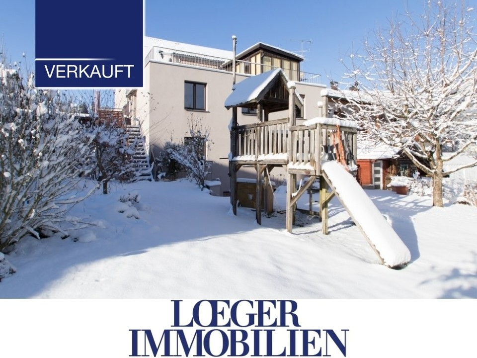 +VERKAUFT+ Mehrgenerationenhaus mit vielen Nutzungsmöglichkeiten und großem Garten in Tutzing