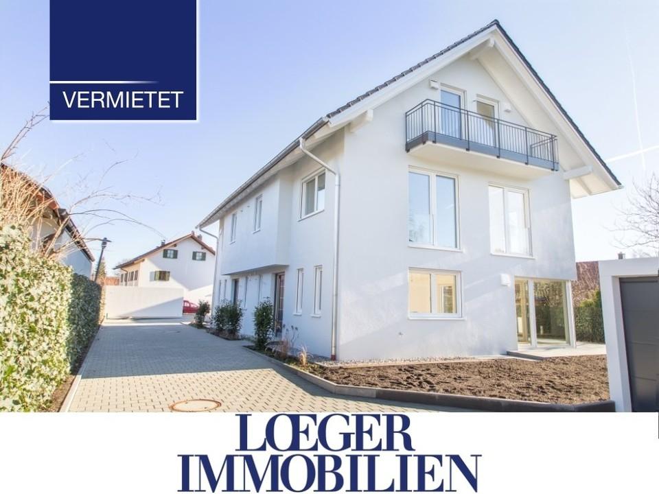 +VERMIETET+ moderne Doppelhaushälfte mit Blick auf Kloster Andechs