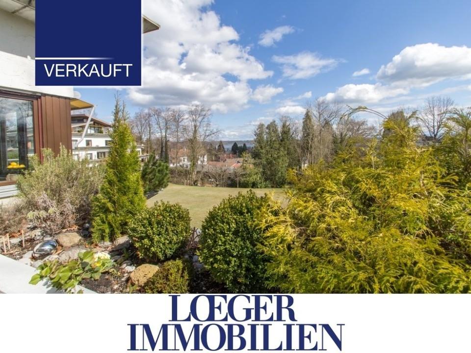 +VERKAUFT+ Tutzing – mediterrane Dachterrassen-Wohnung mit Seeblick