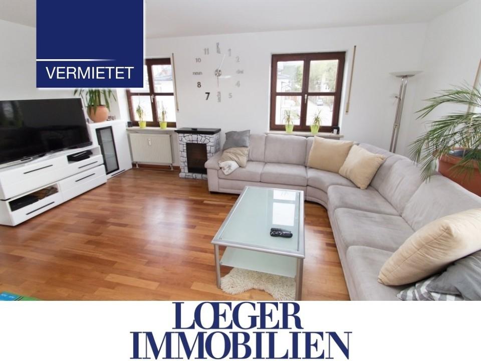 +VERMIETET+ Feldafing – zentral gelegene Wohnung mit großem Westbalkon