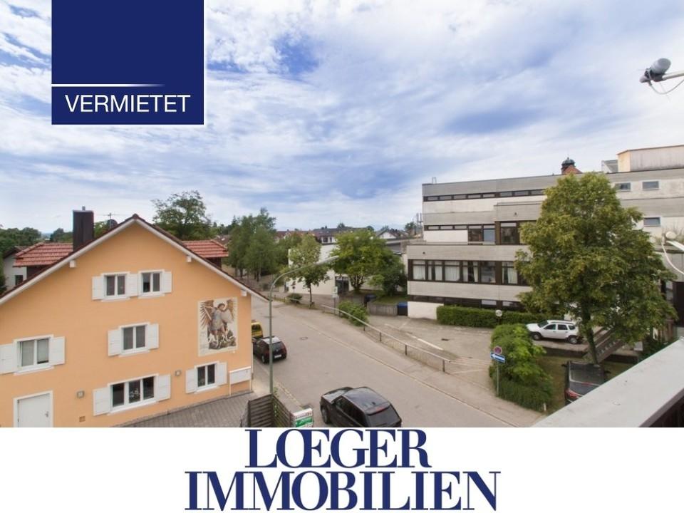+VERMIETET+ Einfache aber gemütliche Dachgeschoss-Wohnung im Zentrum von Tutzing