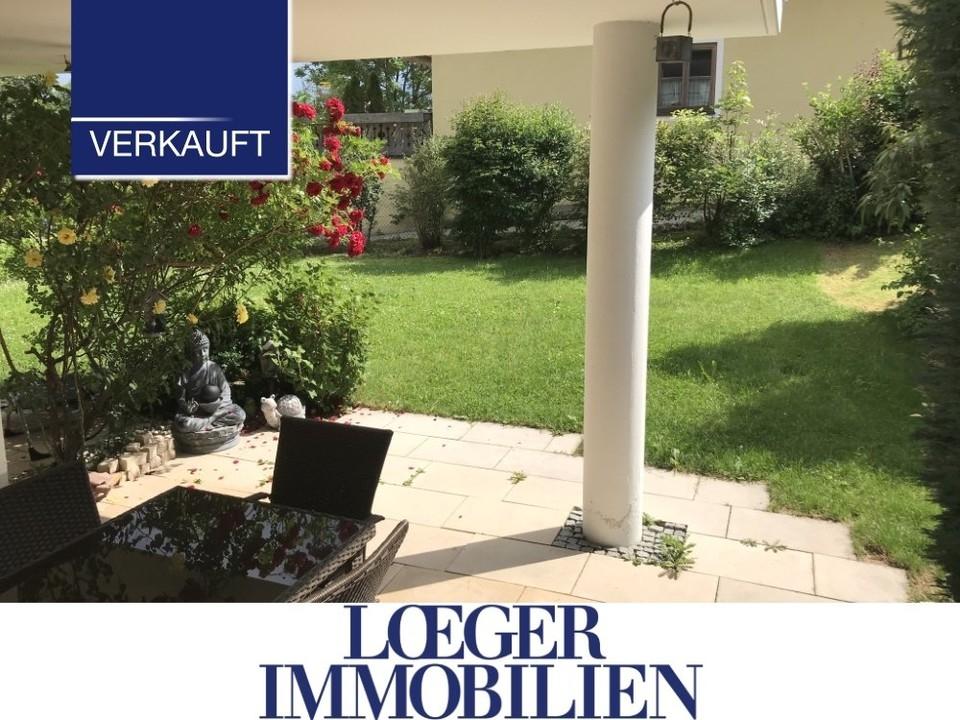 +VERKAUFT+ Tutzing – Erdgeschoss-Wohnung mit großer Terrasse und Garten