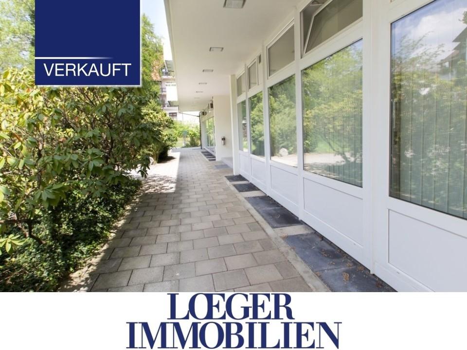 +VERKAUFT+ Feldafing – Erdgeschoss-Wohnung zum Wohnen und Arbeiten