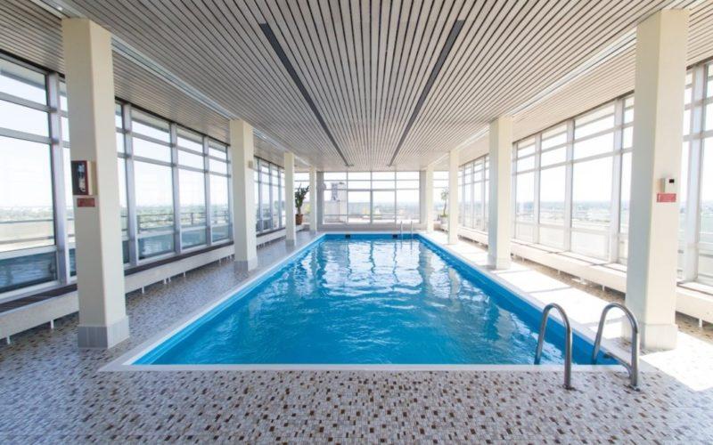 München Penthouse Wohnung mit Schwimmbad